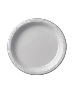 Silver Party Plates - Paper