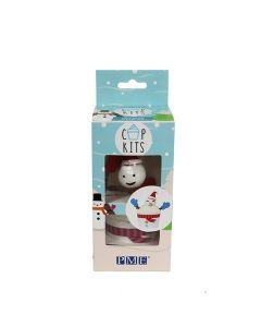PME - Cup Kit - Snowman - 6 sets