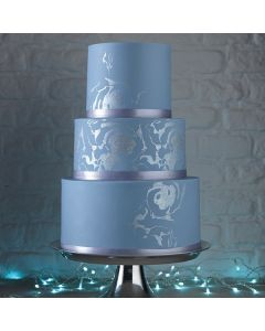 House of Cake Glitter Icing Tube Silver 25g