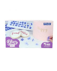 PME Fun Font Letters Stamp Set