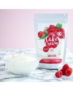 Cake Cream - Whisper White - Raspberry 400g