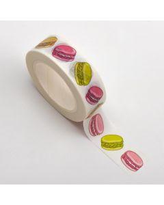 Adhesive Washi Tape – Macaroons 15mm x 10m