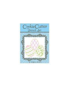 Designer Stencils - Mini Easter Egg Cutter And Stencil Set
