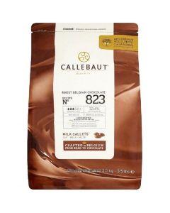 Callebaut Belgian milk Chocolate chips - 2.5kg