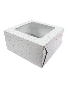 Multi Spot Cake Box 10'' (Pack of 20)