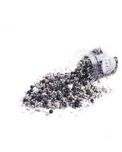 Happy Sprinkles 'Black Pearl' Edible Sprinkles 90g