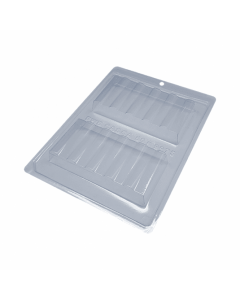 BWB 9975 - Tube Tablet Bar 3-Part Chocolate Mould