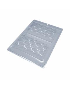 BWB 9994 - 3D Tablet 3-Part Chocolate Mould (28-N)