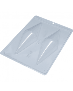 BWB 9828 - Giant Ice Cream Cone 3-Part Chocolate Mould