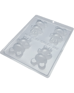 BWB 9935 - Little Bear Chocolate Mould ( 3-N)