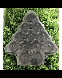 Christmas Tree Cupcake Platter Base & Lid