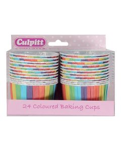 Rainbow Baking Cups - pack of 24