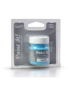 Paint it Edible Food Paint - Sky Blue (25ml)