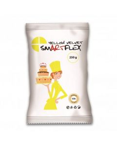 SmartFlex Yellow Velvet Sugarpaste 250g