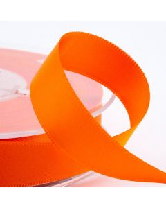 16mm Satin Ribbon x 2M - Orange