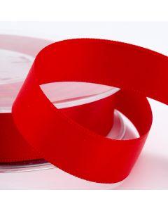 16mm Satin Ribbon x 2M - Red