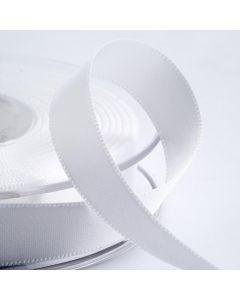 16mm Satin Ribbon x 2M - White
