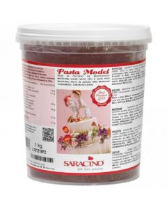 Saracino Brown Modelling Paste 1kg (Cracked Tub Only)