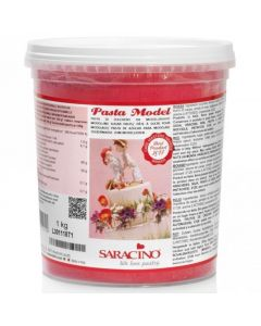 Saracino Red Modelling Paste 1kg (Cracked Tub Only)