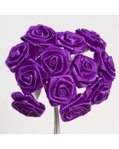 Purple ribbon rose – 144 Pack