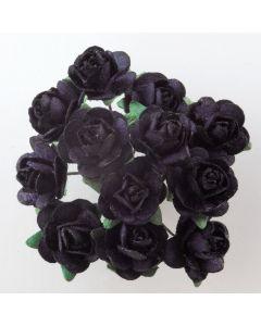 Black paper tea rose – 144 Pack