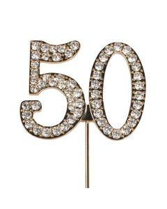 Diamante No 50 - Gold Colour Wire