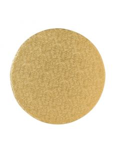 """9"""" Gold Drum Round"""
