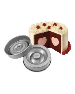 Wilton Heart Cake Tin Set