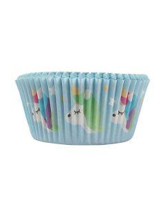 Unicorn Foil Lined Baking Cases - 24 piece