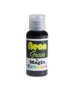 Magic Colours Green - Neon Effect Sugarcraft Paste Colour 32g