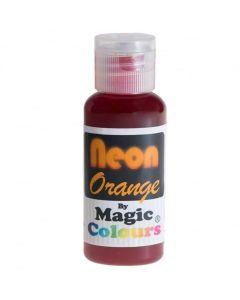 Magic Colours Orange - Neon Effect Sugarcraft Paste Colour 32g