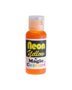 Magic Colours Yellow - Neon Effect Sugarcraft Paste Colour 32g
