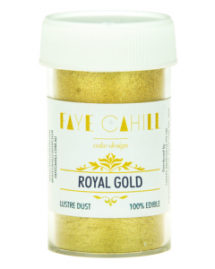 Faye Cahill Edible Lustre Dust 22ml - Royal Gold
