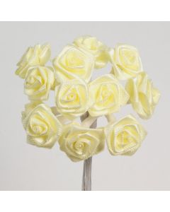 Lemon ribbon rose – 144 Pack