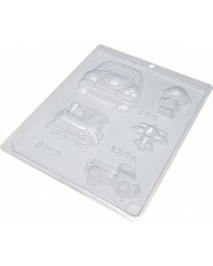BWB 136 - Toy Chocolate Mould (6-N)
