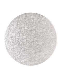 """15"""" Round Silver Drum (pack of 5)"""