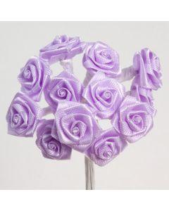Lilac ribbon rose – 144 Pack