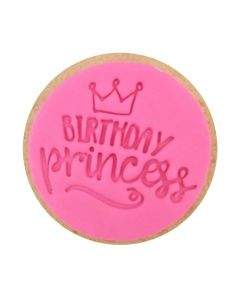 Sweet Stamp Birthday Princess Cookie/Cupcake Embosser