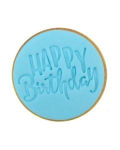 Sweet Stamp Happy Birthday Cookie/Cupcake Embosser
