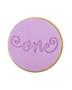 Sweet Stamp 'One' Cookie/Cupcake Embosser