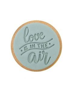 Sweet Stamp 'Love Is In The Air' Cookie/Cupcake Embosser