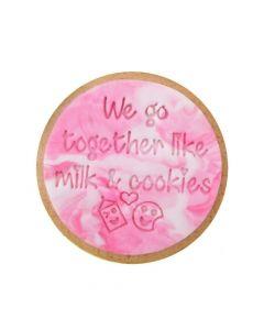 Sweet Stamp 'We Go Together...' Cookie/Cupcake Embosser