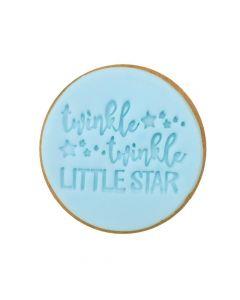 Sweet Stamp 'Twinkle Twinkle' Cookie/Cupcake Embosser