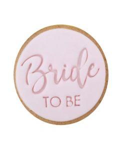 Sweet Stamp Trendy 'Bride To Be' Cookie/Cupcake Embosser