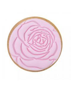 Sweet Stamp Rose Cookie/Cupcake Embosser