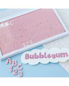 SWEET STAMP  Bubblegum Edition Embossing Set