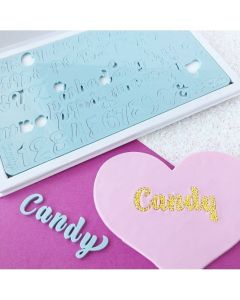 SWEET STAMP  Candy Edition Embossing Set