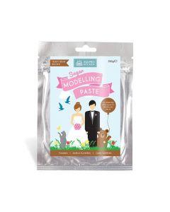 Squires Kitchen Sugar Modelling Paste - Teddy Bear Brown - 200g