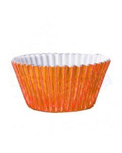 Orange Foil Cupcake Baking Cases - Pack of 500