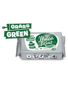 Massa Ticino Grass Green Sugar Paste 250g
